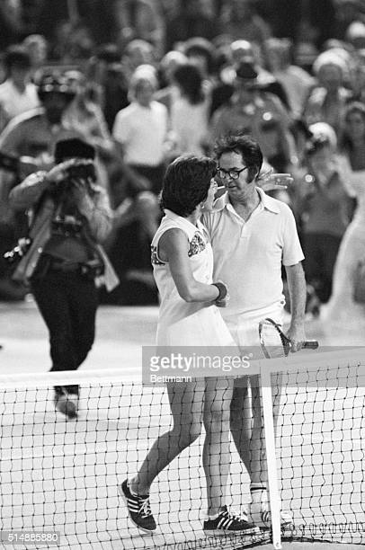 Retired tennis champion Bobby Riggs challenged Billie Jean King to a battle of the sexes tennis match in 1973. King beat Riggs in three sets and...