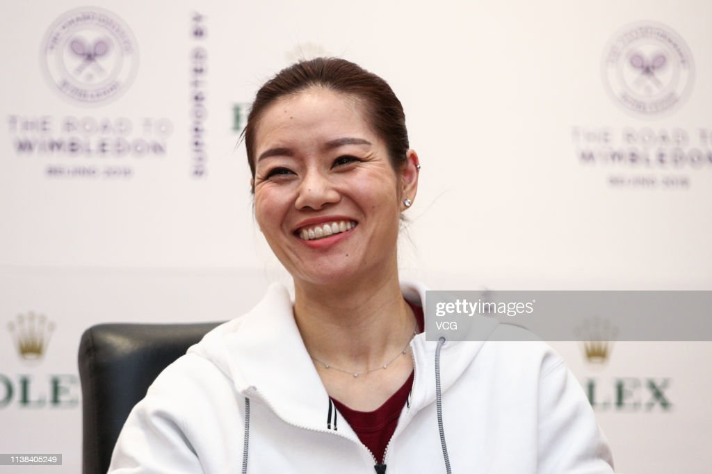 CHN: Li Na Attends 'The Road To Wimbledon' Event In Beijing