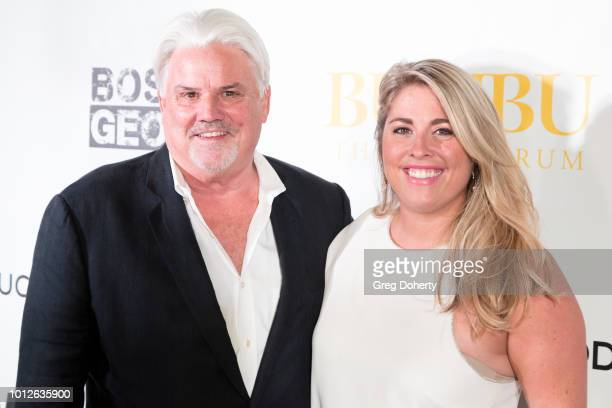 Retired Undercover DEA Agent Michael McManus and his daughter Kelly Provinzano attend George Jung's Birthday Celebration And Screening Of Blow at TCL...