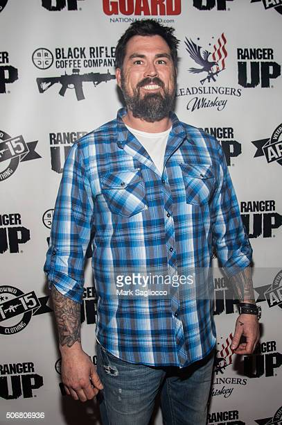 Retired US Navy Seal Marcus Luttrell main subject of film Lone Survivor is seen around town at the Sundance Film Festival on January 25 2016 in Park...