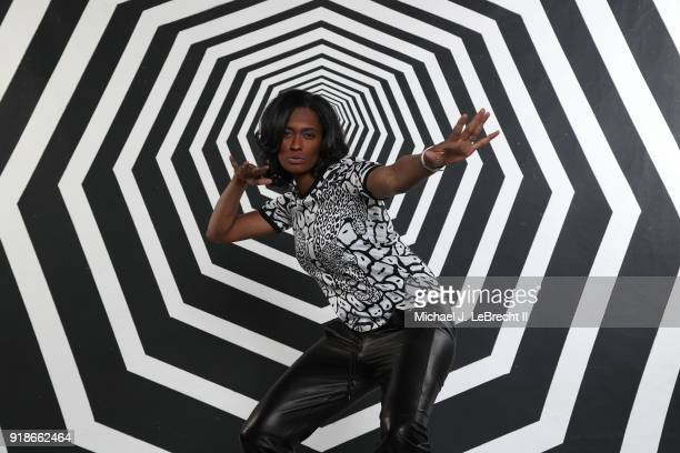 Retired WNBA Player Swin Cash poses for portraits during the NBAE Circuit as part of 2018 NBA AllStar Weekend on February 15 2018 at the JW Marriott...