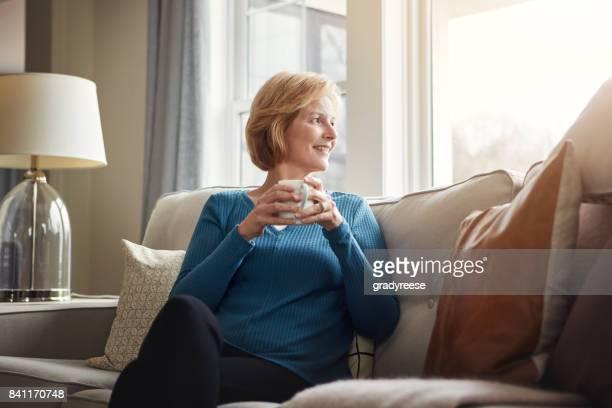 Retirement - Leaving work behind and her worries behind