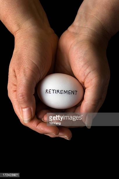 Retirement Pension Savings, Investment Nest Egg Planning and Protection