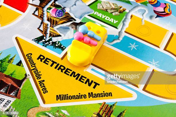 Retiring in The Game of Life