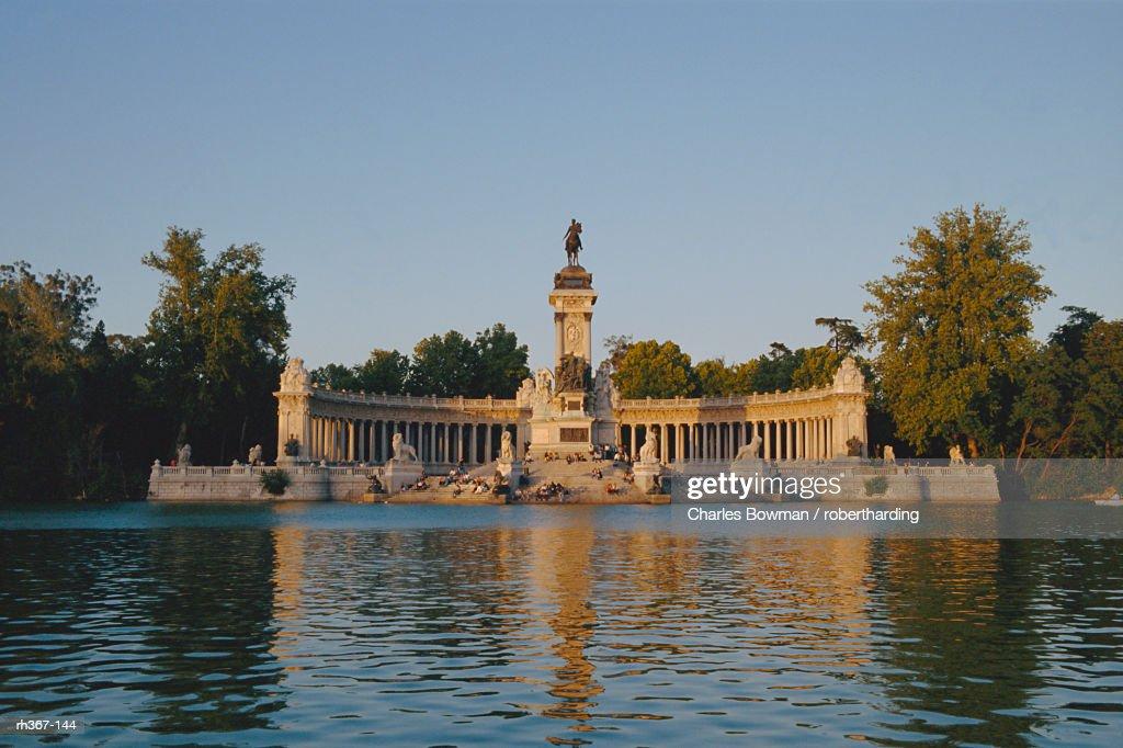 Retiro Lake, Madrid, Spain, Europe : Stockfoto