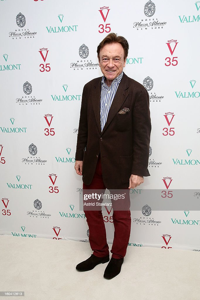 Reto E. Cantone attends the V35 Valmont SPA Launch Event at Plaza Athenee on January 30, 2013 in New York City.