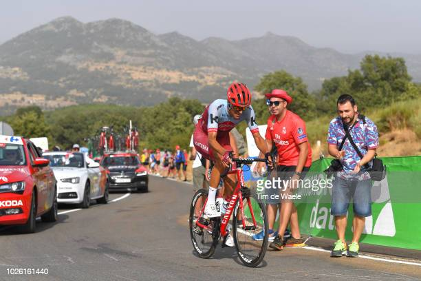 Reto Hollenstein of Switzerland and Team Katusha Alpecin / Fans / Public / during the 73rd Tour of Spain 2018 Stage 9 a 2008km stage from Talavera de...