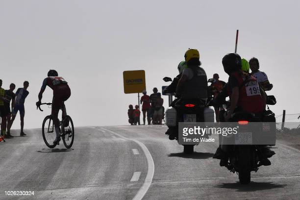 Reto Hollenstein of Switzerland and Team Katusha Alpecin / Motorbikes / Silhouet / during the 73rd Tour of Spain 2018, Stage 9 a 200,8km stage from...