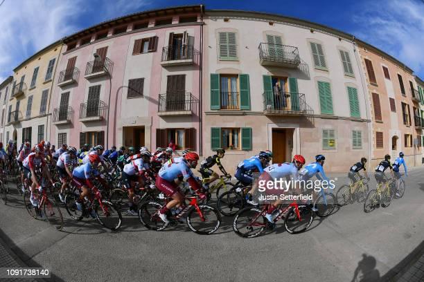Reto Hollenstein of Switzerland and Team Katusha Alpecin / Rick Zabel of Germany and Team Katusha Alpecin / Matteo Fabbro of Italy and Team Katusha...