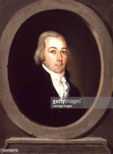 Retrato de caballero, ca. 1805-1809. Artist Jose Campeche.
