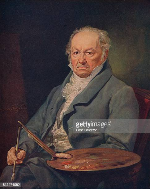 Retrato Del Pintor Don Francsico Goya' Francisco de Goya y Lucientes was a Spanish painter and engraver This neoclassical portrait shows Goya at 80...