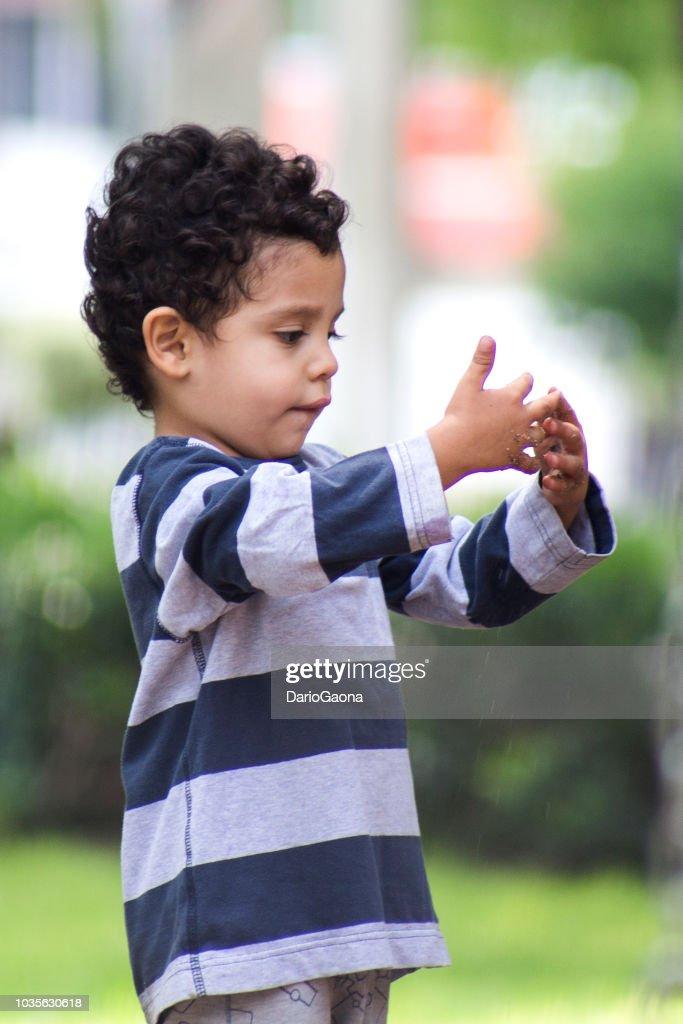 Retrato niño : Stock-Foto