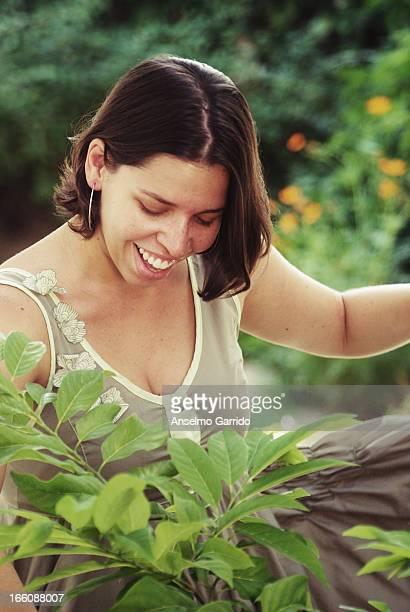 Retrato no Jardim