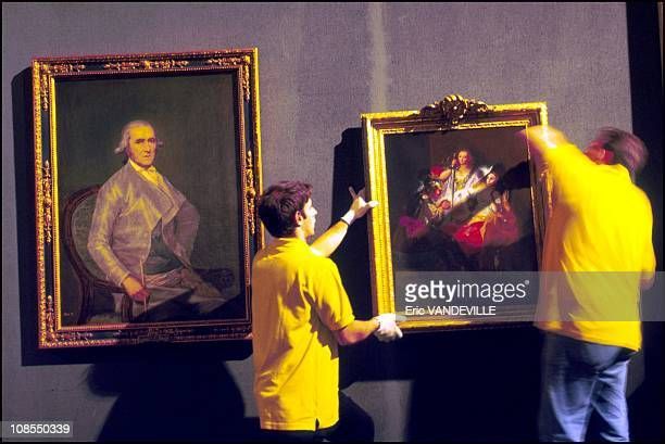 Retrato of Francisco Bayeu Hercules y Onfala in Rome Italy on March 16th 2000