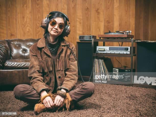 Retro 1970's Girl