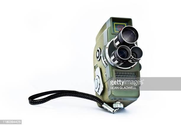 retro 8 mm movie camera - it movie stock pictures, royalty-free photos & images