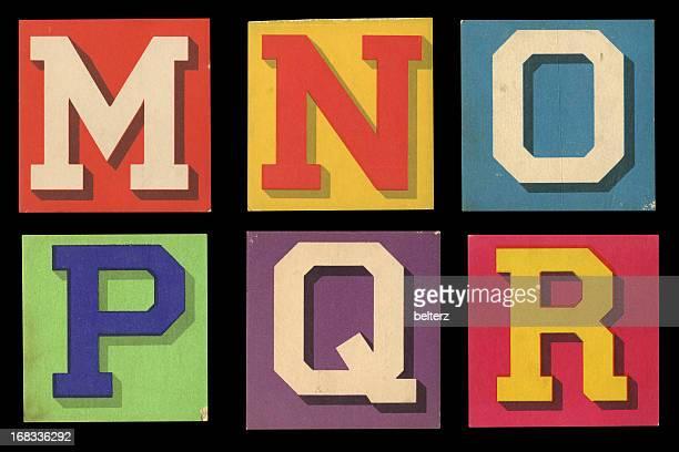 alfabeto retrô - letra r - fotografias e filmes do acervo