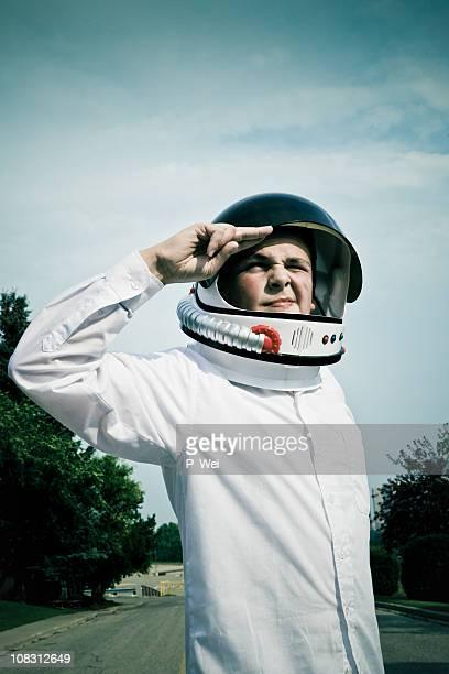 Retro Astroboy Salute