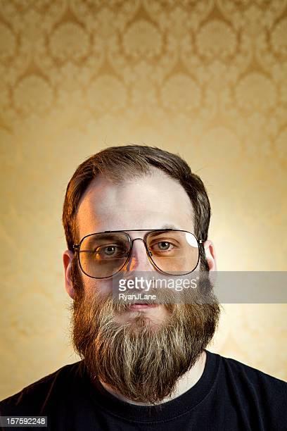 Beard レトロな男性