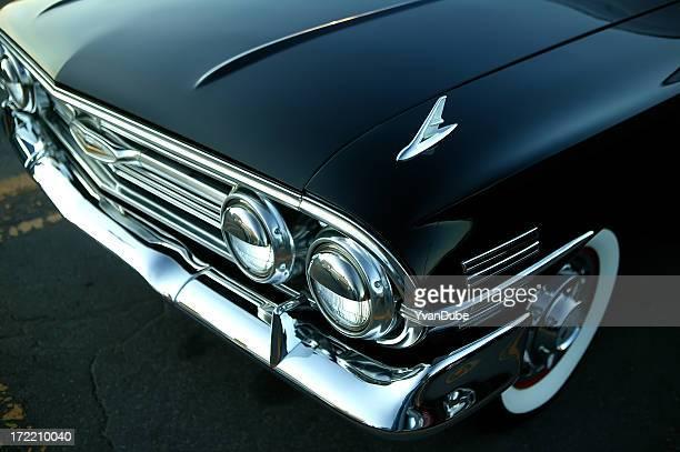 retro black car