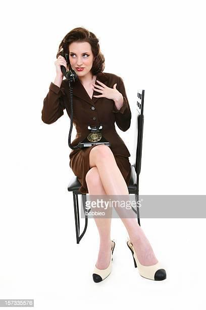 Retro Business Woman