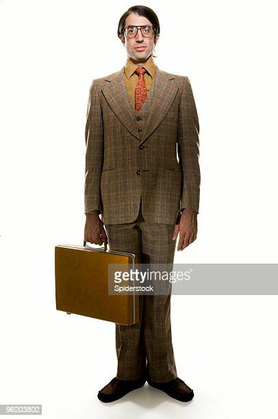 retro businessman - tweed stock pictures, royalty-free photos & images