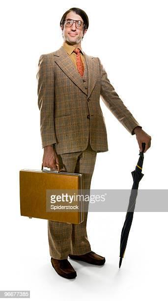 Retro Businessman