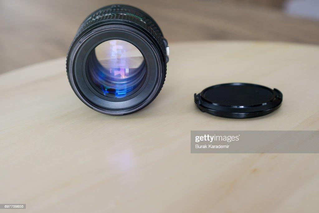 Retro Camera Lens : Foto de stock