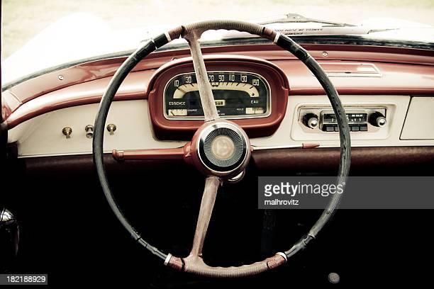 Rétro voiture roue de voiture