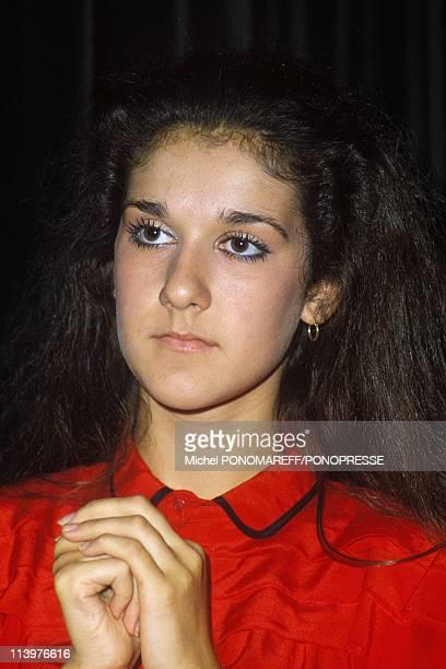Retro. Celine Dion In Canada In March, 1993-l983