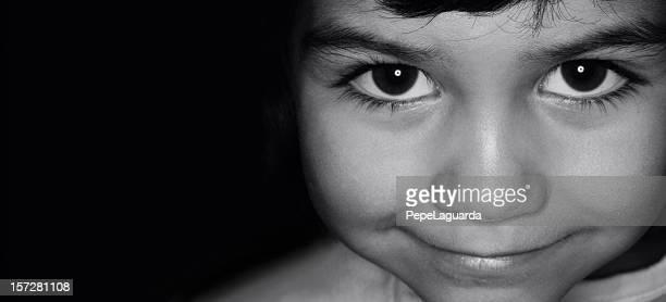 retro: child face
