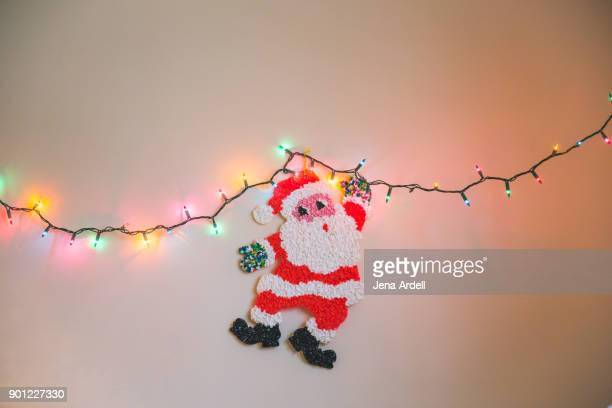 Retro Christmas Decorations Retro Santa Claus