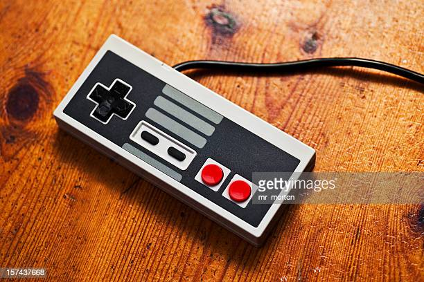 retro game console controller - gambling stock pictures, royalty-free photos & images