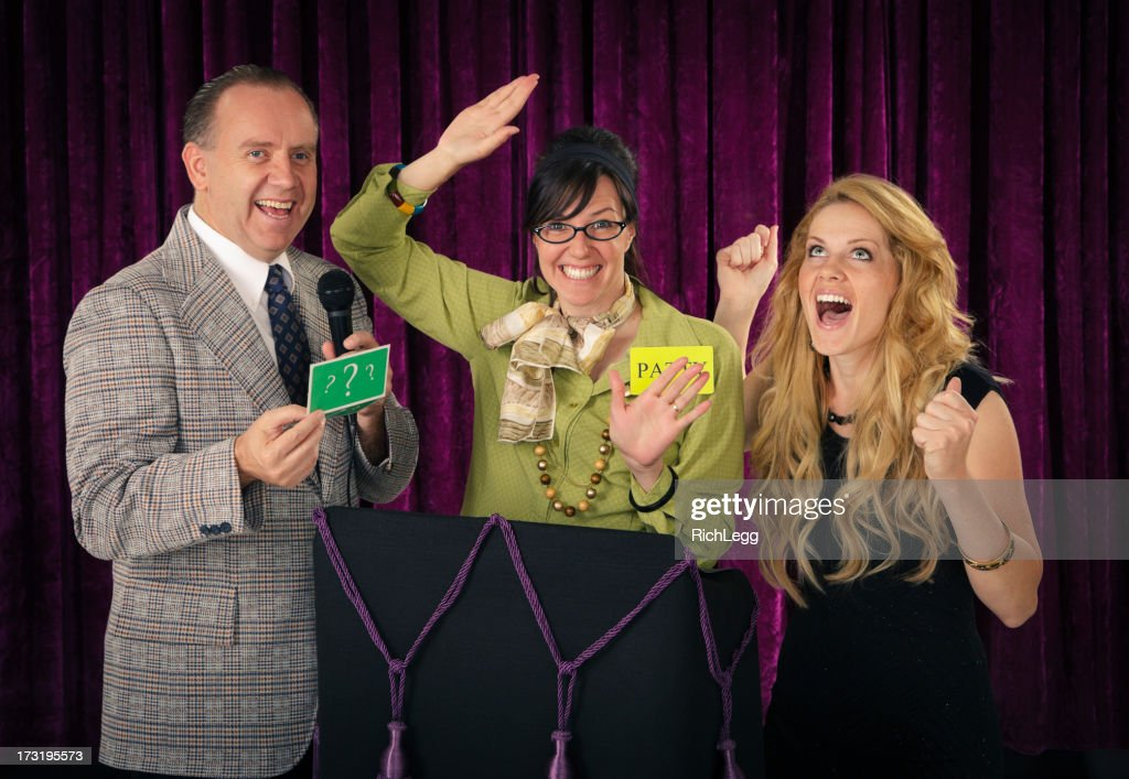 Retro Game Show : Stock Photo