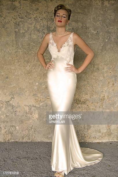 Retro glamour couture