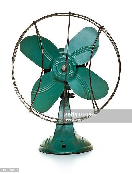 retro green fan