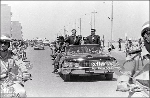 Retro Hafez El Assad In Syria In July 1973