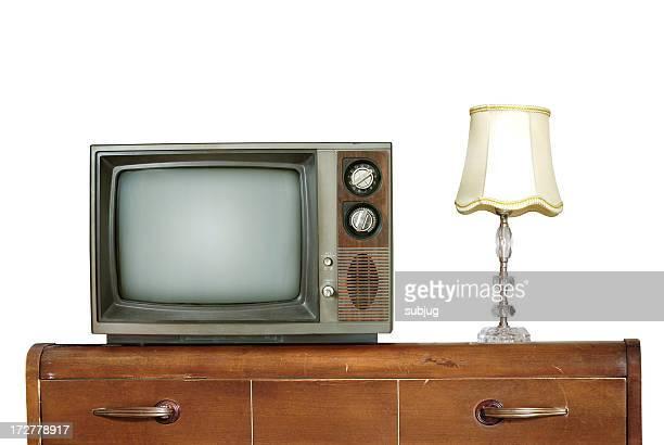 Retro living room - isolated