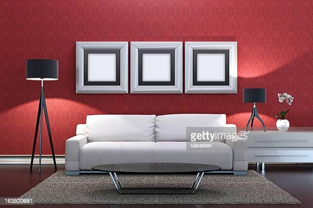 Retro Lounge Room