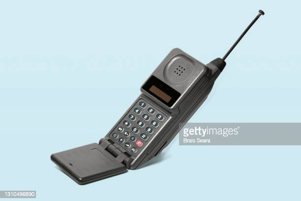 retro mobile phone - 20th century style stock pictures, royalty-free photos & images