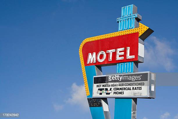 Retro Motel Sign