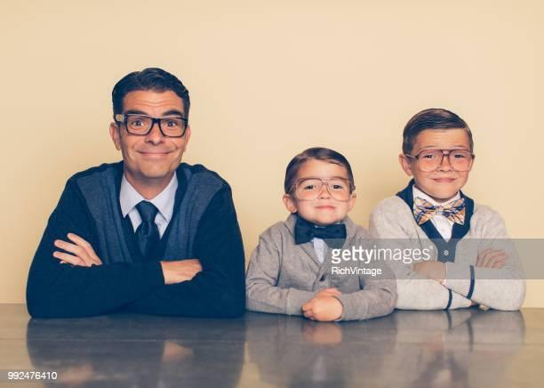 息子とレトロなオタクの父