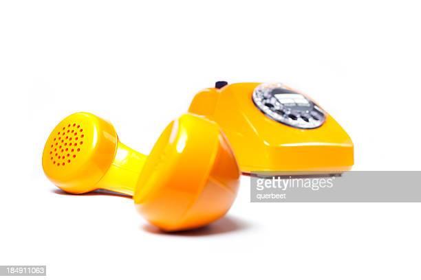 Retro-orange Telefon