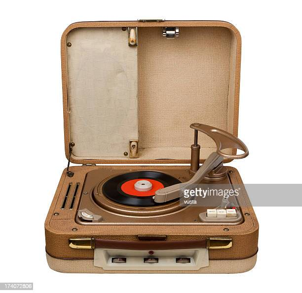retro portable turntable