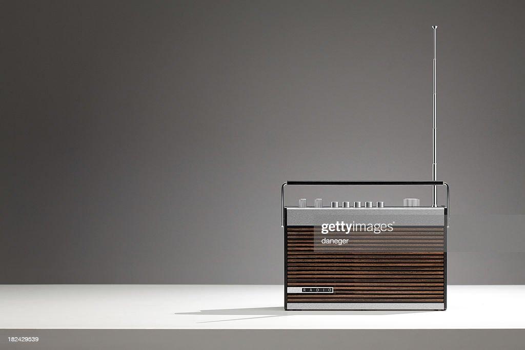 Retro Radio : Stock Photo