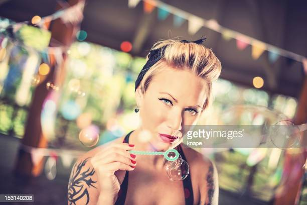 Retro Rockabilly Woman