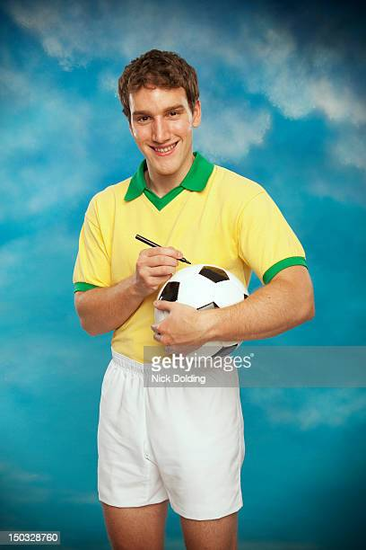 retro sport 19 - football player stock pictures, royalty-free photos & images