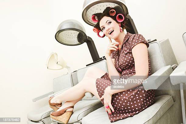vintage hair dryer stock photos and pictures getty images. Black Bedroom Furniture Sets. Home Design Ideas