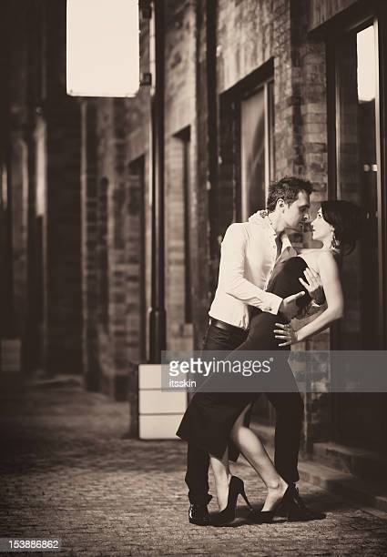 Retro tango dance