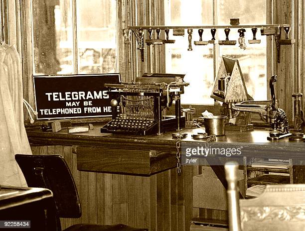 Retro Telegraph Office